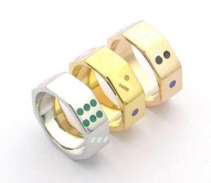 marca de moda têm selos peneira de designer de pérolas anéis para homens e mulheres senhora Partido amantes casamento engajamento dom de jóias de luxo