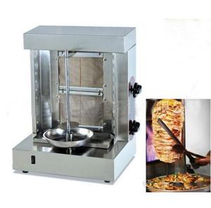 KBM-25A two burners shawarma machine doner kebab machine Mini Gas Kebab machine with Two Gas Burners