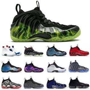 NUEVA Paranorman Penny Hardaway zapatos de baloncesto de los hombres de la espuma Uno Olímpico Tech Fleece Dr. Doom Hyper carmesí mens entrenadores zapatillas deportivas 7-13