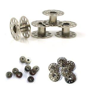 20Pcs Legierung Bobbin Haushaltsnaehmaschinen Handarbeitsprodukte Werkzeug Altertümlich Qualitäts-Metall Bobbins Spool Nähmaschine Zubehör