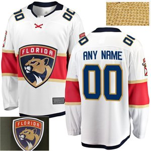 2020 Florida Panthers Jonathan Huberdeau Roberto Luongo Jersey Aleksander Barkov Aaron Ekblad Mike Hoffman pullover del hokey ha cucito su misura