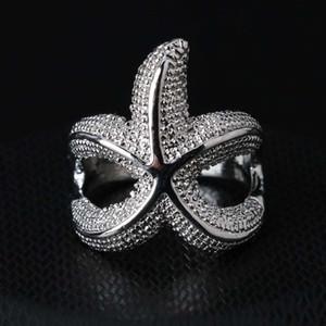 Anelli per le donne degli uomini 925 donne personalizzabile moda personalizzata Starfish Compleanno 925 Wedding Rings