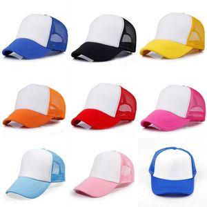 Erkek Çocuklar Kız Genç Vintage Mesh Snapback Trucker Cap Çocuklar Beyzbol Şapka Ayarlanabilir İlkbahar Yaz Plaj Partisi Açık Sokak Sunhat