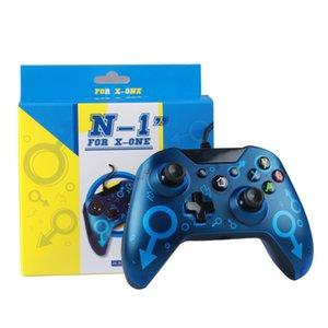N-1 Wired Controller para X-ONE dispositivos de juego USB Joystick Gamepad controlador de video juego con paquete al por menor