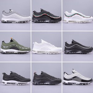 INS vendas quentes de alta qualidade Novos 97 homens OG Running Shoes tamanho Outdoor Sports 97s Designers Sneakers homens e mulheres da moda 36-45