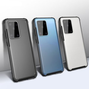 The latest model of 2020, injection molding process, PC material, frosted semi-permeable, fall-proof mobile phone case for Galaxy Note 10