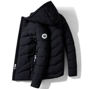 Giacca invernale da uomo Parka coreana cappotto inverno maschio del rivestimento degli uomini vestiti 2020 Parkas parti superiori calde più il formato Veste Homme Hiver ZT4628