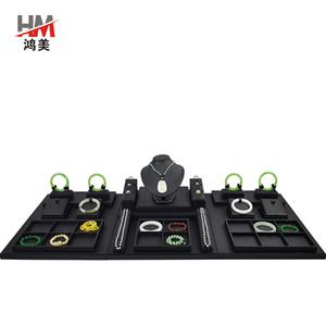 Takı Ekran Dikmeler Jade Takı Raf Küpeler Kolye Bilezik Raf Takı Counter Display Tepsi Raf