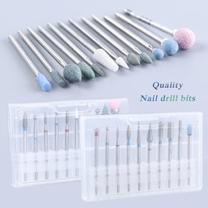 eauty & Health SWEETTREND Nail Drill Bits Kit Cutters For Milling Machine Manicure Set Corn Cylinder Ball Brush Gel Remover Tools LAHZ01...