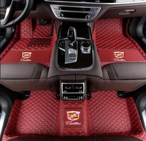 Tappetino per auto Cadillac-ATS CT6 CTS ELR SRX STS XT5 XTS 2005-2019 tappetini auto di lusso personalizzati (si prega di lasciare il modello esatto e l'anno)