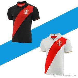 2019 copa america peru home white away black GUERRERO CUEVA Mens football shirts 2020 camiseta de fútbol soccer jerseys 19 20 SIZE S-2XL