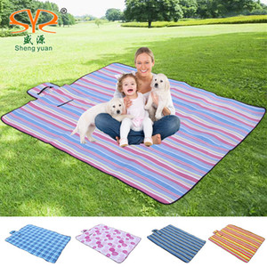 Outdoor picnic mat 200 x 150 Camping ascensione del bambino coperta plaid Beach Blanket impermeabile a prova d'umidità di picnic bambino Mat Camping