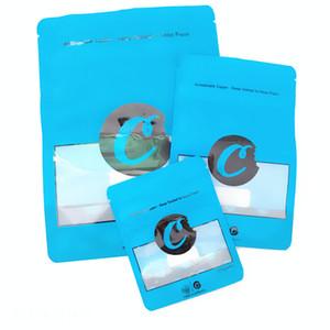 Plus récent COOKIES Californie SF 8 3.5G Mylar 420 Emballage Sacs sécurité enfants Connected Cookies Sac Taille 3.5G-1/8 Sacs