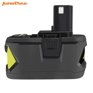 Powtree Per Ryobi 18V 9000mAh P108 RB18 agli ioni di litio batteria ricaricabile Power Tools Batteria Ryobi ONE +