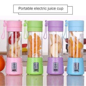 400ml 6 Lames USB rechargeable Blender Mixer 150W aliments pour bébés légumes Mills Fruit Smoothie Squeezers Robot culinaire BDZfl