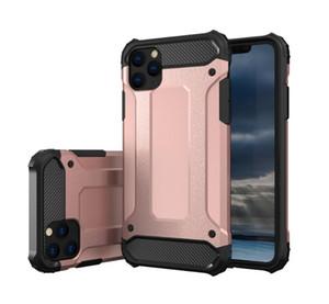 Híbrido Defender borracha TPU PC à prova de choque robusto Telefone caso protetor Capas para iPhone 11 Pro Max