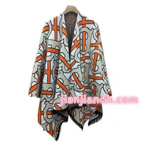 Fabbrica Spot Tre colori nuovi maniche scialle nappa mantello giacca cardigan donna di grandi dimensioni 2019 winterzh2011