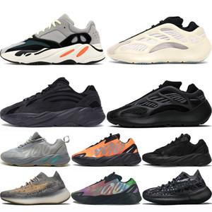 Adidas 700 380 shoes Scarpe da corsa viola bianca bianca originale firmata da donna, nuove sneakers da uomo bianche grigie in pelle color oro rosa