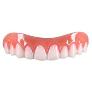 Impiallacciature denti Tutori dentali simulazione sorriso istantaneo comfort fit Flex Upper False Protesi Cover Cosmetic