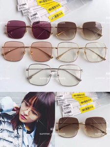 Have stamps fashion High version luxury classic Designer sunglasses Radiant mirror vintage style outdoor Lovers design classical with BOX