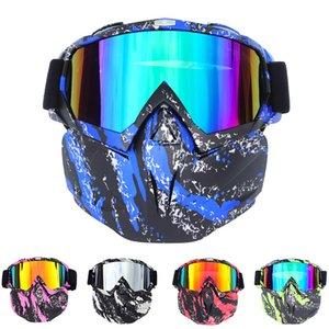Inter Sport-Zubehör Ski Brillen Reiten Ski Snowboard Snowmobile Brille Schnee-Winter-Skifahren-Ski-Anti-UV-Wasserdichtes Glas Mo-Maske ...