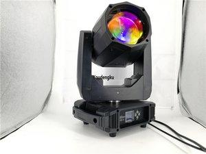 Cabezas mini Sharking del disco LED encienden la luz principal móvil de la viga del haz led estupendo 80w rgbw 4in 1 para la etapa