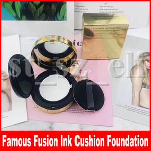 Известная пудра для макияжа лица Le Cushion Encre De Peau Коллекционер Fusion Ink Cushion Foundation Корректор 14г
