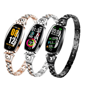 H8 Smart Watch Women 2019 Waterproof Heart rate Blood pressure monitoring Bluetooth For Android IOS Fitness Bracelet Smartwatch