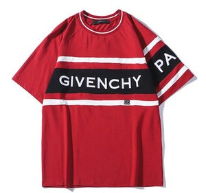 2019 supf Europa París bordado contraste patchwork camiseta moda aape Mens T Shirt Casual hombres ropa algodón camiseta