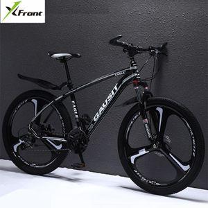 Venta al por mayor Marca Mountain Bike Aleación de aluminio Marco Freno de disco hidráulico SHIMAN0 27 30 Deportes de velocidad MTB Deportes Bicicleta de descenso