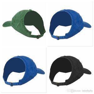 Les femmes Ponytail Baseball Caps à moitié vide Chapeau de soleil Top Visor Mode Prêle Cap Messy Bun Snapback Cheveux naturels Respirant Chapeaux LTYP99