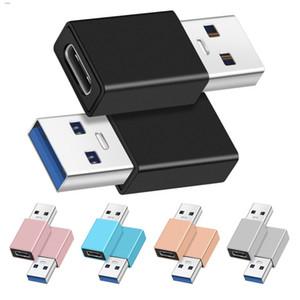 OTG adaptador USB macho a hembra USB tipo C OTG adaptador convertidor de tipo C Cable adaptador para Nexus 5x 6p OnePlus 3 2 USB-C de datos del cargador