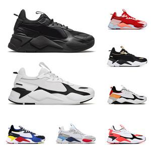 2020 puma rs x Reinvention Toys hommes femmes chaussures de sport triple noir BRIGHT PEACH Tracks baskets respirantes pour hommes baskets taille 36-45