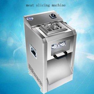 Cortador de la carne vertical de acero inoxidable máquina de cortar carne de corte de la máquina de la máquina de cortar carne desmontable 2200W 400 kg / h