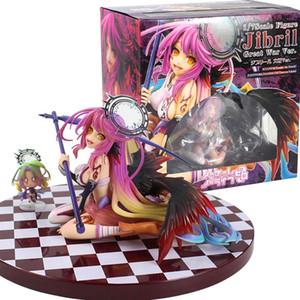 13.5 سم No Game No Life Flueqel Jibril Anime Action Figure PVC New Collection figures toys Collection