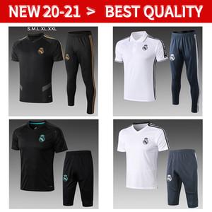 19 20 21 real madrid Survêtement Polo chemisettes de formation camiseta de football Maillots Survêtement manches courtes