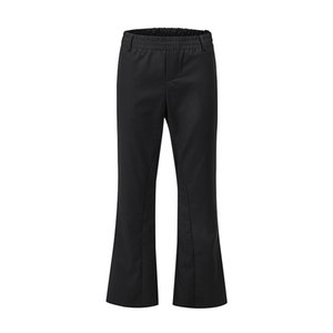 Solid Color Elastic Waist Flare Pants Men and Women Loose Wide Leg Loose Casual Suit Pants Streetwear Trousers