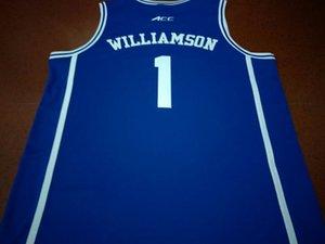 mulheres costume Homens Jovens Duke Vintage # 14 GOLDWIRE # 13 BAKER Rodada pescoço Basketball Jersey # 35 BAGLEY III # 34 CARTER JR. # 2 TRENT JR. # 5 BARRETT