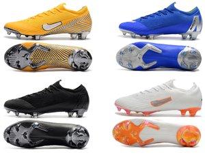 2020 New Mercurial 12 Safari Korea Elite Wavelength Future Lab Hyper Crimson FG Youth Kid Football shoes