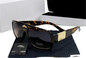 موضة جديدة ميدوسا رجل / إمرأة نظارات شمسية حماية ايطاليا العلامة التجارية 2168 النظارات الشمسية عالية الجودة تظليل كبير السبيل النظارات الشمسية