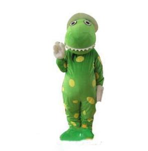 2019 Высокое качество костюм талисмана динозавра условия головы материал Бесплатная доставка