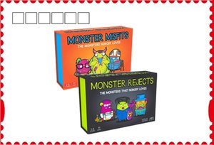 Монстр отвергает партии игры дружественный Кролик монстр отвергает NSFW издание явное содержание поставляется с 77 карт и 1 фантазии книгу правил