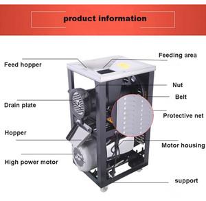 2020 Viande commerciale Slicer entièrement automatique Shred en acier inoxydable Slicer Dicing machine électrique Coupe-légumes Moulin