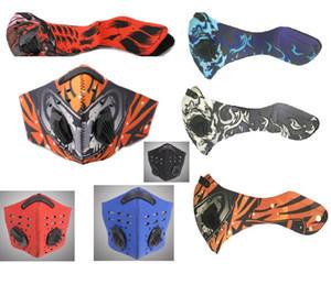 Erkekler Nefes Spor Yüz Açık Bisiklet Toz Hava Kirliliği Koruyucu Yarım Yüz Neopren PM2.5 Parti Maskeler Maske HH7-1388