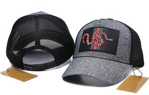 Tasarım Üst Beyzbol Şapkası Ayarlanabilir Snapback Yaz Serin Beyzbol Kapaklar Marka Yeni yılan arı nakış Beyzbol Şapka Steelers Kap Ovo Baba Şapka