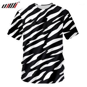 Nuovo 3D La Zebra Stripes Man O Collo Tshirt Stampato Mens gotico Tee Shirt vendita calda unisex maglietta Recommend1