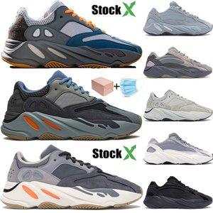 New Teal Carbon-Blue Wave Läufer 700 3M Reflex kanye west Outdoor-Schuhe Männer Frauen Inertia Krankenhaus Blau Vanta Turnschuhe Designer