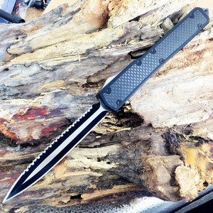 8 моделей Makora II, 106 D2 лезвие T6-6061 черная коробка волокна ручка двойного действия неподвижного лезвия Складной нож Xmas подарок Адул