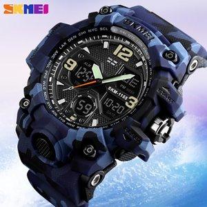 SKMEI Top Luxury Men's Quartz Watch Sport Analog LED Digital Wristwatch Outdoor Waterproof Male Clock Relogio Masculino