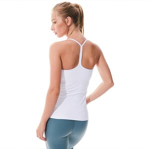 New ladies yoga T-shirt vest fitness exercise running beauty back Y